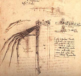 Drawing by Da Vinci